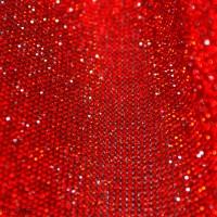 Стразы мелкие на листе 24х4см клеевые 50# красные