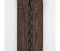 Молния обувная 18 см тип 7 * № 283 темно-коричневый