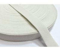 Резинка башмачная (уп. 25 м) арт. 5020 шир. 20 мм № 001 белый