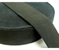 Резинка башмачная (уп. 25 м) арт. 5050 шир. 50 мм № 365 чёрный