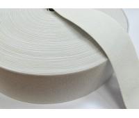 Резинка башмачная (уп. 25 м) арт. 5050 шир. 50 мм № 001 белый