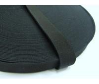 Резинка башмачная (уп. 25 м) арт. 5020 шир. 20 мм № 365 чёрный