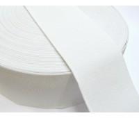 Резинка башмачная (уп. 25 м) арт. 5060 шир. 60 мм № 001 белый