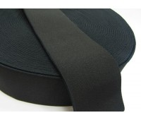Резинка башмачная (уп. 25 м) арт. 5060 шир. 60 мм № 365 чёрный