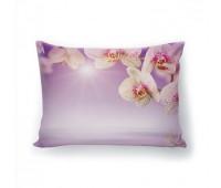 Фотоподушка Белая орхидея