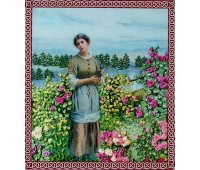 "Набор для вышивания лентами ""Аромат роз"""