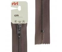 Молния Meras, спираль, неразъёмная, 4 мм, 18 см, цвет 2226, темно-коричневый