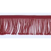 Бахрома витая, 60 мм, цвет кораллово-розовый темный