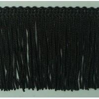 Бахрома 50 мм, цвет черный