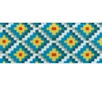 Резинка декоративная, 30 мм, цвет морской волны, 10 м