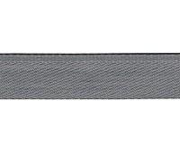 Тесьма брючная PEGA, серо-коричневый, 15 мм