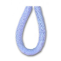 Шнур атласный SAFISA 2 мм, 25 м, цвет 04, светло-голубой