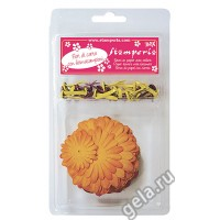 Набор бумажных цветов с брадс
