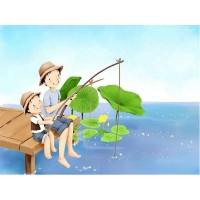 """Картина по номерам """"Друзья на рыбалке"""""""