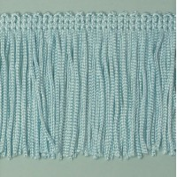 Бахрома 50 мм, цвет светло-голубой
