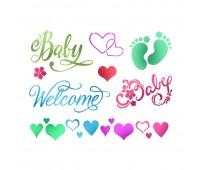 "Трафарет ""Baby Welcome"""