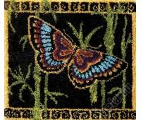 """Набор для вышивания коврика """"Восточная бабочка"""""""