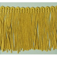 Бахрома 50 мм, цвет золотисто-желтый