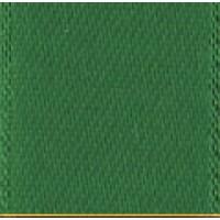 Лента атласная двусторонняя SAFISA мини-рулоны, 11 мм, 4 м, цвет 25, зеленый