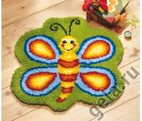 """Набор для вышивания коврика """"Бабочка"""""""