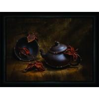 """Набор для изготовления картины со стразами """"Восточное чаепитие"""" Crystal Art"""