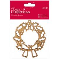 """Декоративный элемент """"Рождественский венок"""" (дерево) Create Christmas"""