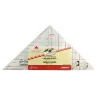 """Линейка-треугольник для кроя блока «Летящие гуси» от 1"""" до 5"""""""