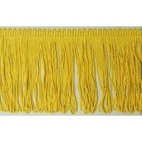 Бахрома 50 мм, петелькой, цвет золотисто-желтый
