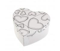 """Коробки для упаковки подарков в технике декупаж """"Сердце"""""""