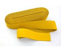 Резинка-пояс, 40 мм, цвет желтый
