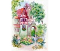 """Набор для вышивания бисер-ленты """"Райский сад"""""""