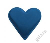 """Заклепки металлическике """"Сердца"""", синие"""