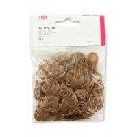 Волосы для кукол кудрявые, коричневые, 15 г