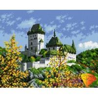 """Картина стразами """"Древний замок"""""""