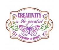 "Трафарет ""Creativity"""