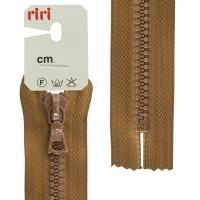 Молния riri тракторная неразъемная, 6 мм, 20 cм, цвет 2209, светло-коричневый