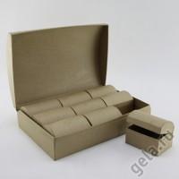 Заготовка для декупажа в наборе 10шт., коробочки для украшений