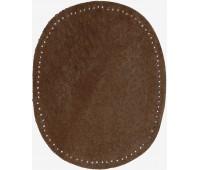 Заплатки термоклеевые искусственная замша HKM, коричневые