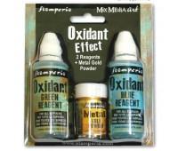 """Набор компонентов """"Oxidant Effect"""" для создания эффекта """"цветной ржавчины"""""""