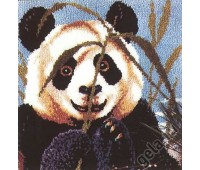 """Набор для вышивания коврика """"Выглядывающая панда"""""""