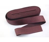 Резинка-пояс, 40 мм, цвет бордо