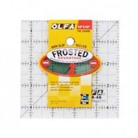 "Линейка для пэчворка ""Frosted"", градация в дюймах, квадрат 4"" х 4"""