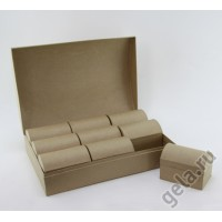 Заготовка для декупажа в наборе 10шт, коробочки для украшений