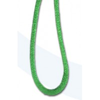 Шнур атласный SAFISA 1,5 мм, 25 м, цвет 62, ярко-зеленый