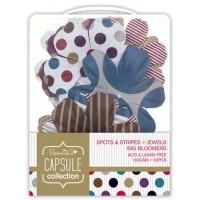 """Декоративные элементы """"Крупные цветы"""" Spots & Stripes Jewels"""