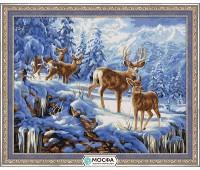 """Картина по номерам """"Благородные олени"""""""