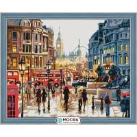 """Картина по номерам """"Осень в Лондоне"""""""