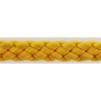 Шнур PEGA полиэстровый, цвет ярко-желтый, 6,0 мм