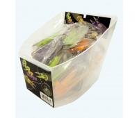 Набор ножниц для обрезки нитей 7,5 см в закрытом пластиковом корпусе, 30 шт