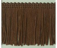 Бахрома 50 мм, цвет коричневый
